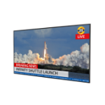 "Planar Systems QE9850 Digital signage flat panel 98"" LED 4K Ultra HD Black"
