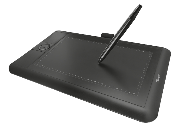 Graphic Tablet Panora Widescreen Black