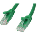 StarTech.com Cat6 Patch Cable with Snagless RJ45 Connectors - 10 m, Green