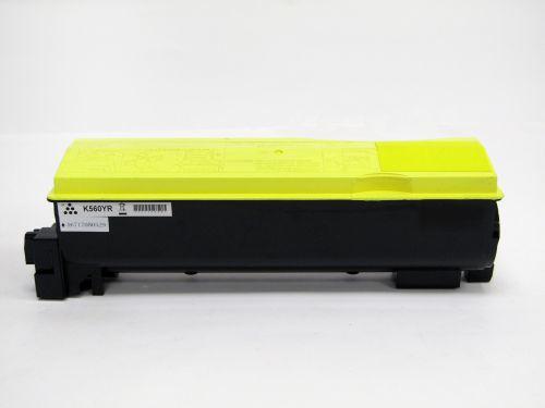 Remanufactured Kyocera TK560Y Yellow Toner Cartridge