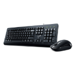Genius KM-160 keyboard USB Black