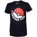 Pokémon I Choose You Men's T-Shirt, Medium, Black (TS120312POK-M)