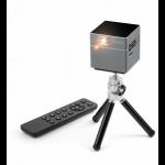 Technaxx TX-126 data projector Portable projector 100 ANSI lumens DLP WVGA (854x480) Black, Grey