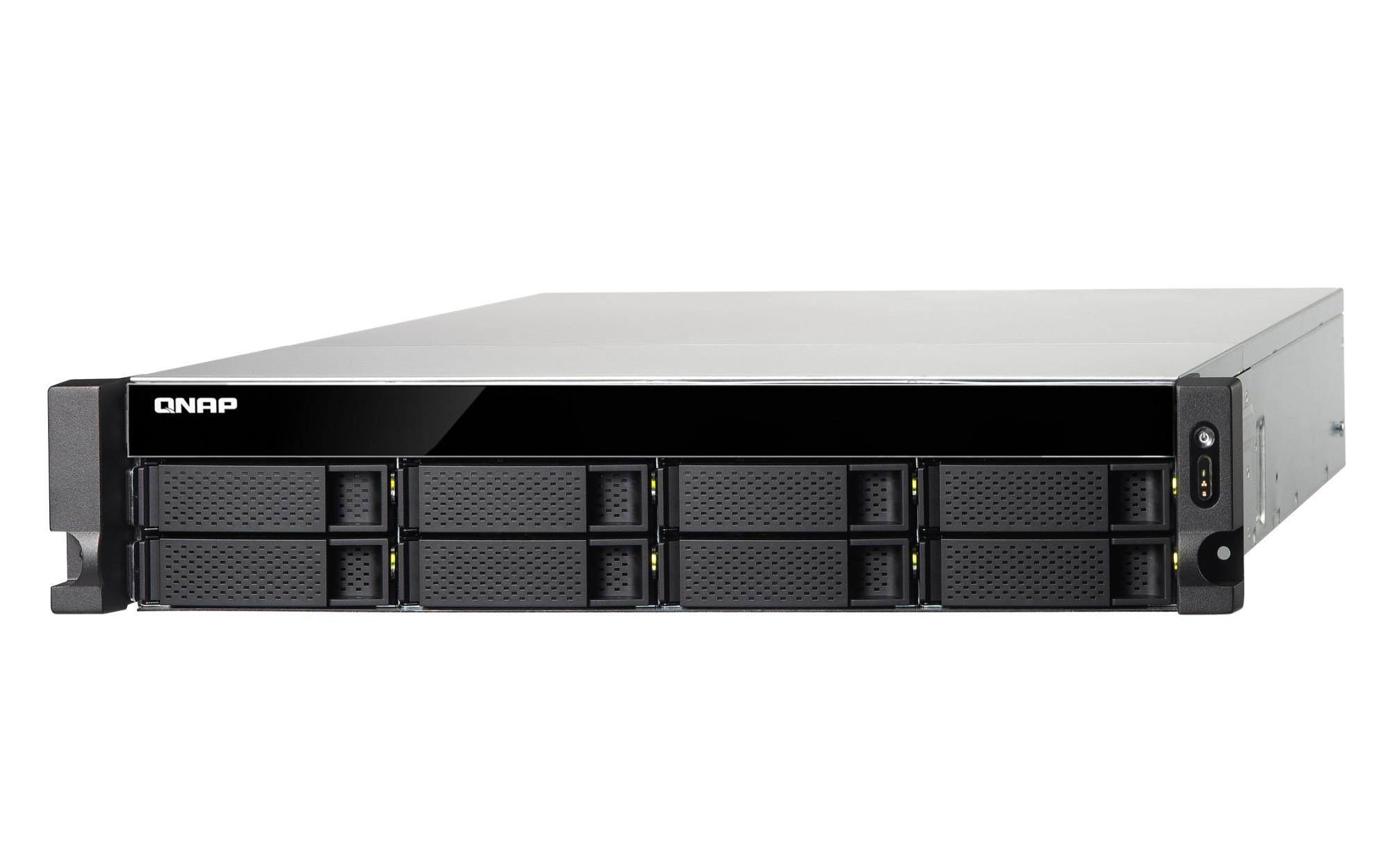 QNAP TS-853BU J3455 Ethernet Bastidor (2U) Negro NAS