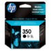HP 350 Black Inkjet Print Cartridge Original Negro 1 pieza(s)
