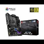 MSI MPG Z490 GAMING PLUS Motherboard 'ATX, LGA1200, DDR4, LAN, USB 3.2 Gen2, Type C, M.2, DisplayPort, HDMI, Pre-installed I/O Shield, RGB Mystic Light, Gen 4 Ready, 10th Gen Intel Core'