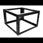 iStarUSA WOM680-SFH25 Freestanding rack 6U 65kg Black rack
