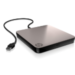 HP Mobile USB NLS DVD-RW Drive optical disc drive Black DVD±RW