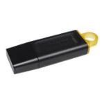Kingston Technology DataTraveler Exodia USB flash drive 128 GB USB Type-A 3.2 Gen 1 (3.1 Gen 1) Black DTX/128GB