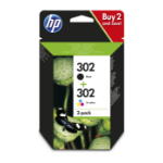 HP X4D37AE#301 (302) Ink cartridge multi pack, 165 pages, Pack qty 2