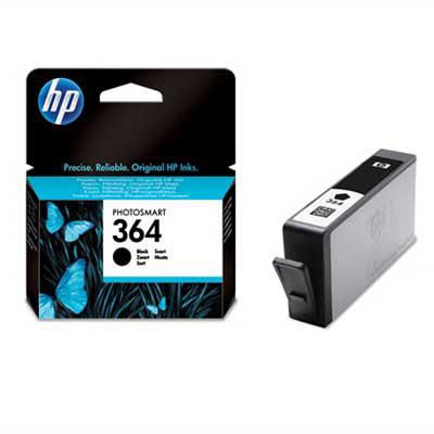 HP 364 Black Ink Cartridge Origineel Zwart 1 stuk(s)