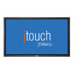 "Infocus INF6501CBAG 65"" 1920 x 1080pixels Touchscreen Black interactive whiteboard"