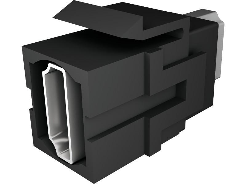 BACHMANN 918.041 SOCKET-OUTLET HDMI BLACK