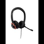 V7 HA530E headphones/headset Head-band Black