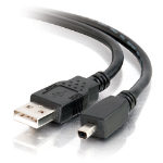 C2G 1m USB A/Mini-B 4-Pin Cable 1m USB A Mini-USB B Male Male Black USB cable