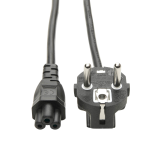 Tripp Lite 2-Prong European Computer Power Cord Lead Cable (C5 to SCHUKO CEE 7/7), 1.83 m