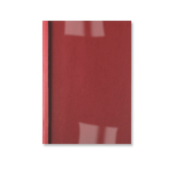 GBC LEATHERGRAIN THERMAL BINDING COVERS 3MM RED (100)