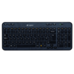 Logitech K360 RF Wireless QWERTZ Swiss Black