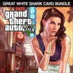Rockstar Games Grand Theft Auto V Great White Shark Cash Card Bundle PC Basic PC English video game