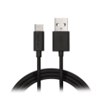 Veho VCL-003-C-1M USB cable USB A USB C Male Black