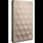 Seagate Backup Plus Ultra Slim 2TB external hard drive 2000 GB Gold