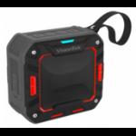 VisionTek BTi65 5 W Mono portable speaker Black,Red