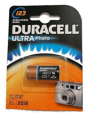Duracell Ultra M3 3v Lithium Single-use battery
