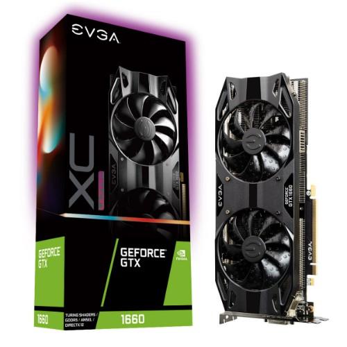 EVGA 06G-P4-1167-KR graphics card GeForce GTX 1660 6 GB GDDR6