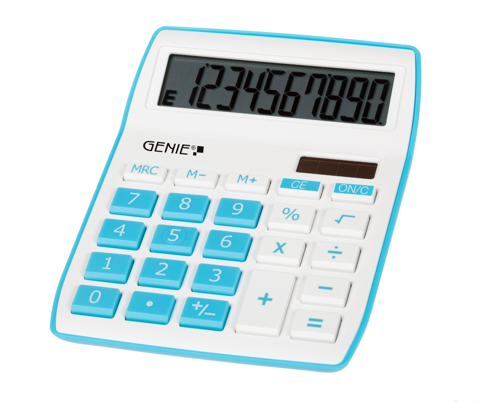 Genie 840 B calculator Desktop Display Blue, White