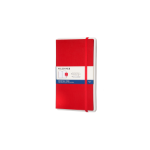 Moleskine PTNL34HF201 writing notebook Red 176 sheets