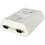 StarTech.com 2 Port RS-232 Serial Ethernet Adapter interface cards/adapter