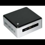 Intel NUC5I5RYH PC/workstation barebone BGA 1168 1.6 GHz i5-5250U Black,Silver