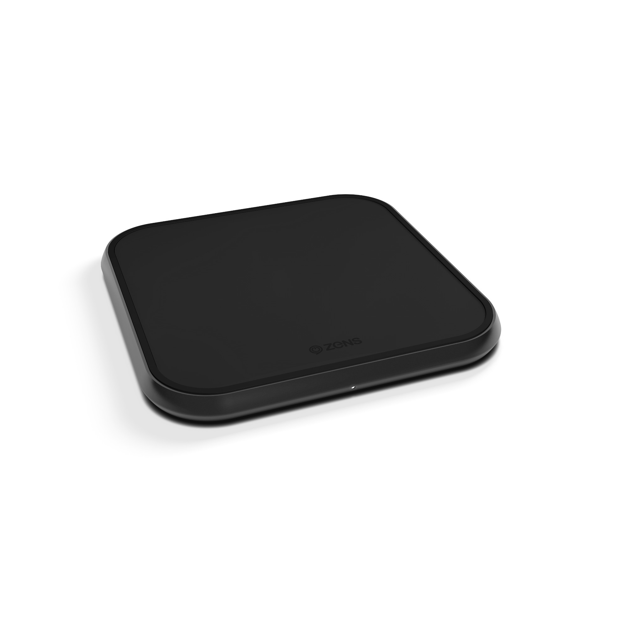 Wireless Charger Single Aluminium Black