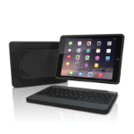 Zagg Rugged Book Bluetooth Black mobile device keyboard
