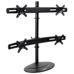 "Tripp Lite Quad Monitor Mount Stand for 10"" to 26"" Flat-Screen Displays"