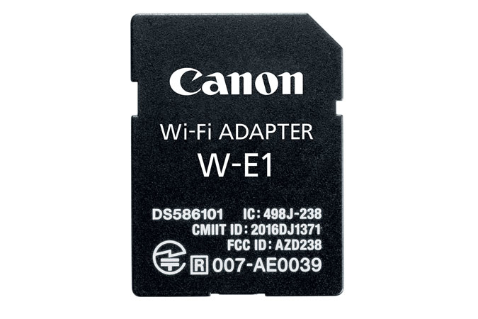 Canon W-E1 WLAN Internal
