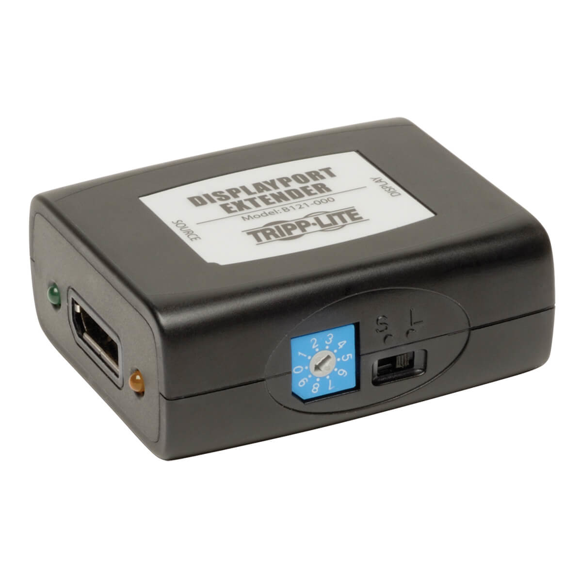 DisplayPort Extender Equalizer Repeater for Video & Audio 1920x1200 at 60Hz/1080p (Displayport F/F)