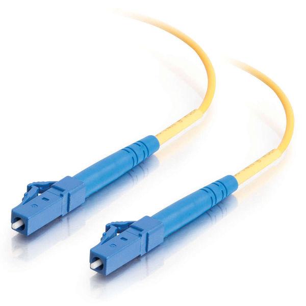 C2G 85609 cable de fibra optica 10 m OFNR LC Amarillo