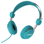 New Laser Headphones Stereo Kids Friendly Colourful Series Blue