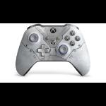 Microsoft Xbox Wireless Controller Gears 5 Kait Diaz Limited Edition Gamepad PC,Xbox One,Xbox One S,Xbox One X Azul, Gris