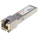 Intellinet Transceiver Module Optical, Gigabit RJ45 Copper SFP, 1000Base-T (RJ45) port, 100m, MSA Compliant, Equivalent to Cisco GLC-T, Three Year Warranty