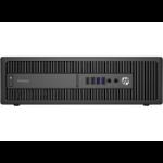 HP EliteDesk 800 G2 3.2GHz i5-6500 SFF Black PC