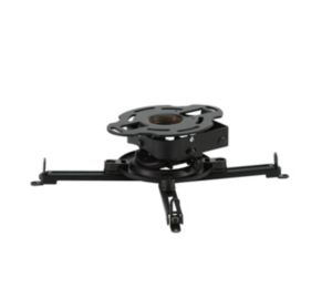 Peerless PRSS-UNV ceiling Black project mount