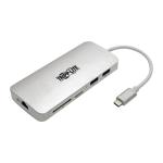 Tripp Lite U442-DOCK11-S interface hub USB 3.2 Gen 2 (3.1 Gen 2) Type-C 1000 Mbit/s Silver