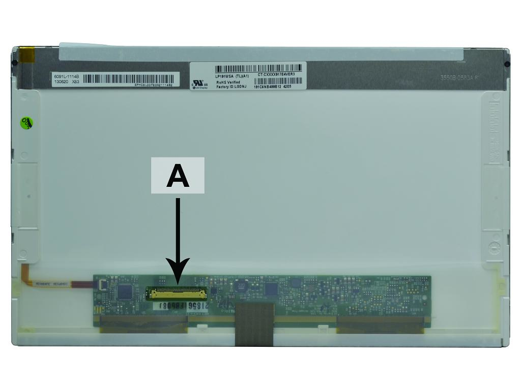2-Power 10.1 WSVGA 1024x600 LED Glossy Screen - replaces LTN101NT06-202