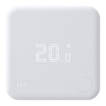 tado � Smart Radiator Thermostat - Radiator thermostat - wireless - 868 MHz - matt white
