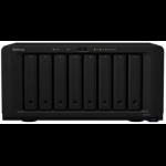 Synology DS1817+ NAS Desktop Ethernet LAN Black