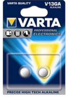 Varta 2x V13GA Single-use battery LR44 Alkaline