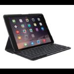 Logitech Slim Folio Bluetooth QWERTY Spanish Black mobile device keyboard