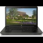 "HP ZBook 17 G4 DDR4-SDRAM Mobile workstation 43.9 cm (17.3"") 1920 x 1080 pixels 7th gen Intel® Core™ i7 8 GB 256 GB SSD NVIDIA® Quadro® M2200M Wi-Fi 5 (802.11ac) Windows 10 Pro Black"